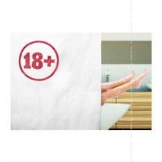 Штора для ванной 18+