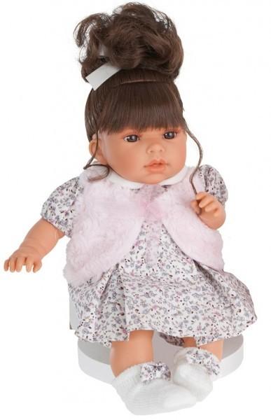 Озвученная кукла-малыш Лучия в белом