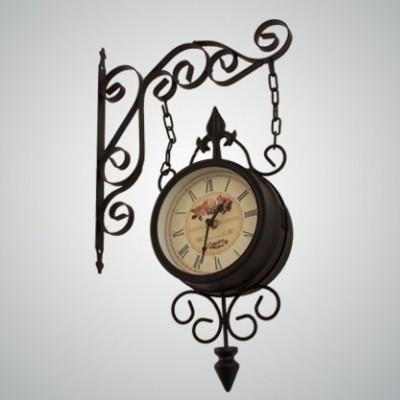 Часы на кронштейне «Встреча».