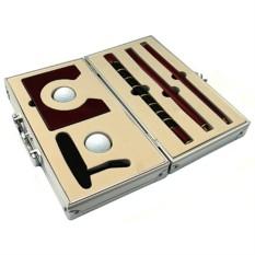 Гольф в металлическом кейсе