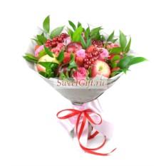 Букет из фруктов и цветов Феерия
