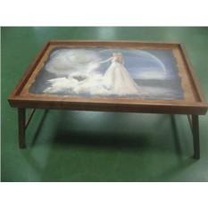 Столик для завтрака в постели Лебединая верность