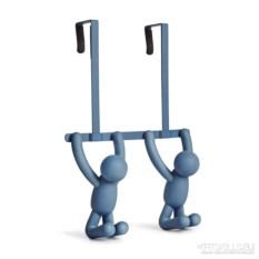 Синяя надверная вешалка Вuddy