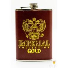 Фляга на 9 унций Золотой герб