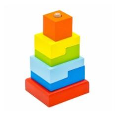 Пирамидка Ступеньки (6 деталей)