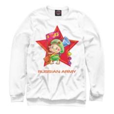 Свитшот Армия России. Маленький воин