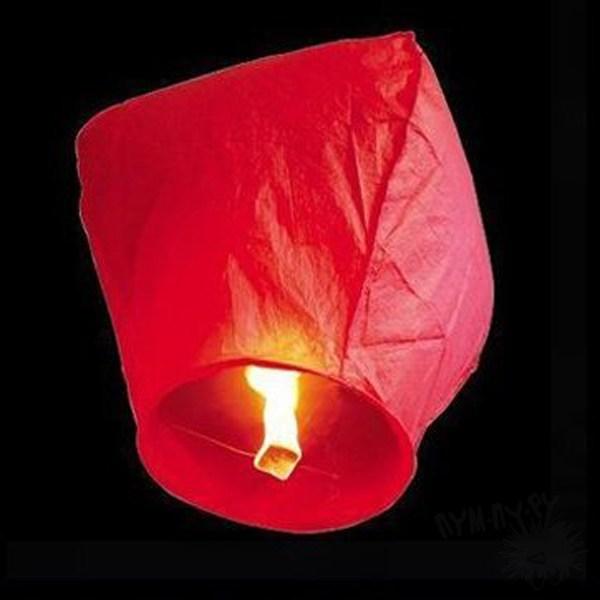 Небесный фонарик (красный)