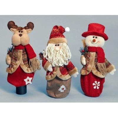 Фигурки Санта, снеговик, лось