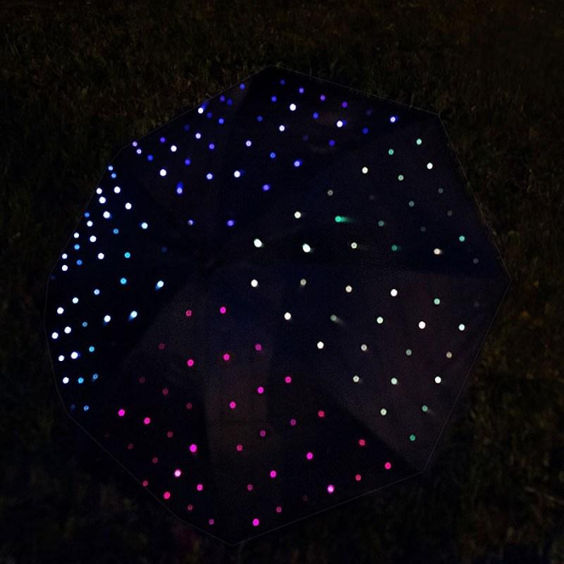 LED-Зонт Светящееся звездное небо