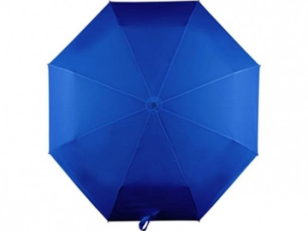 Синий автоматический зонт