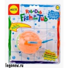 Набор игр для ванны Рыба-ёж