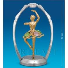 Фигурка с кристаллами Swarovski Танцующая балерина