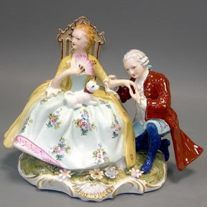 Статуэтка «Влюблённая пара»