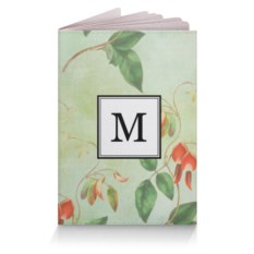 Обложка для паспорта Монограмма