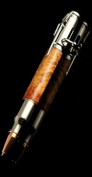 Шариковая ручка в виде реплики патрона 30 калибра