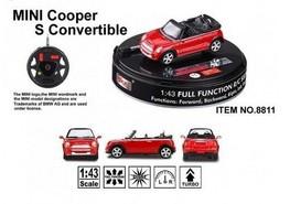 Машинка на радиоуправлении Mini Cooper S Convertible