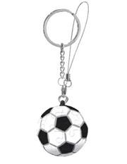 Шаровый пазл брелок Футбол 4 см.