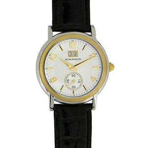 Мужские наручные часы Romanson Leather