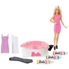 Набор для создания цветных нарядов и кукла Barbie Mattel