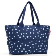 Увеличивающаяся сумка Shopper dots navy