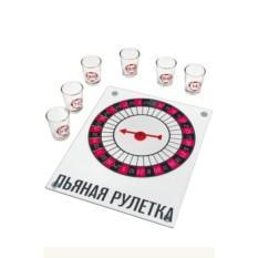 Настольная развлекательная игра Пьяная рулетка