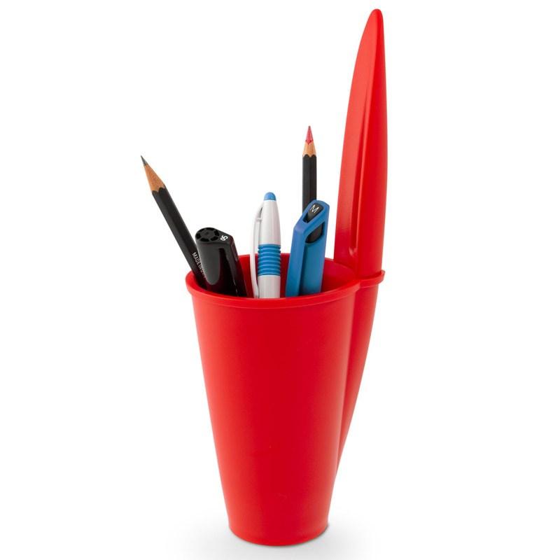 Подставка для ручек Bic, красная