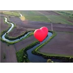 Индивидуальный полет для двоих Экстрим и Сердце с видео