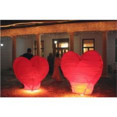Большой фонарик Сердце