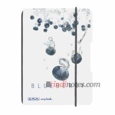 Тетрадь Herlitz my.book Flex A6 Plastic Blueberry