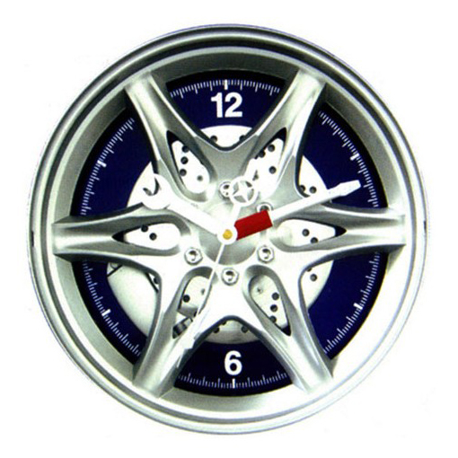 Часы колесо диск