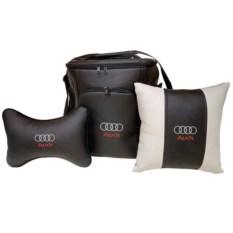 Набор из термосумки 20 л, подушки-подголовника, подушки Audi
