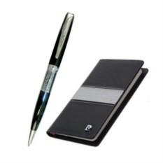 Подарочный набор с записной книжкой и шариковой ручкой