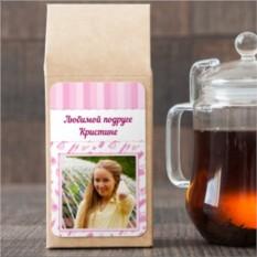 Чёрный чай Розовая фантазия