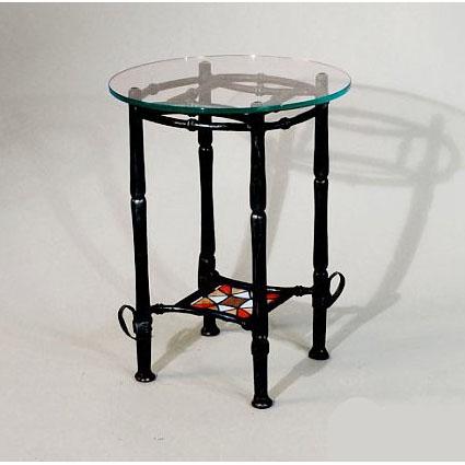 Кованый столик  высокий