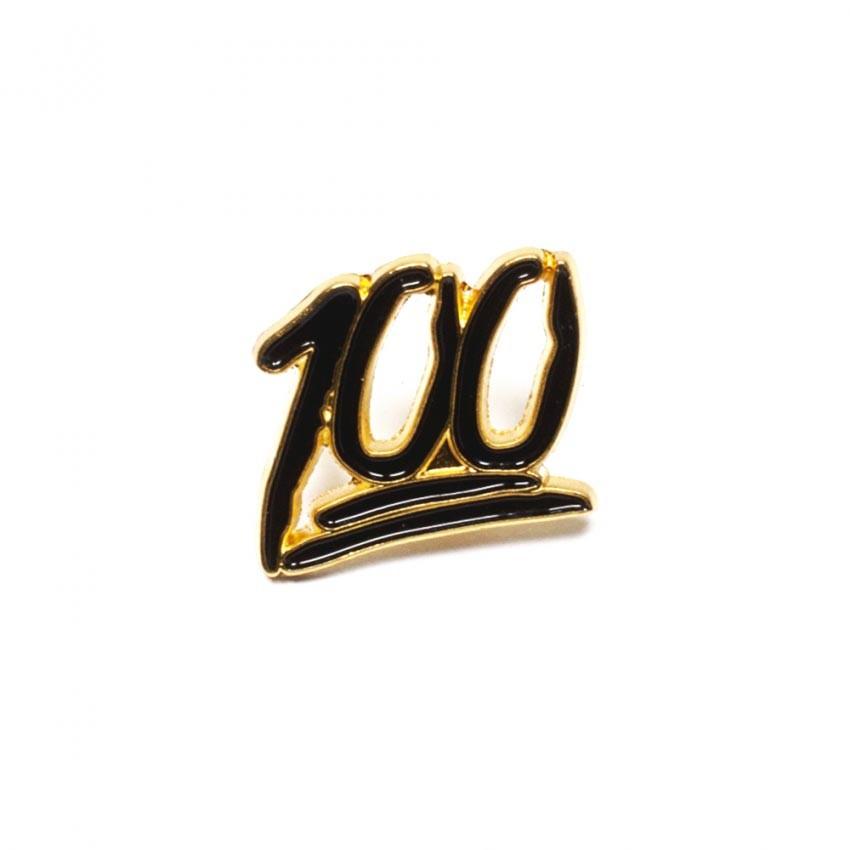 Значок 100
