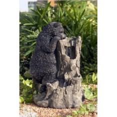 Декоративный садовый фонтан Медведь