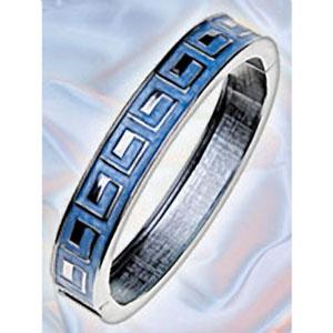 Греческий браслет, серебро