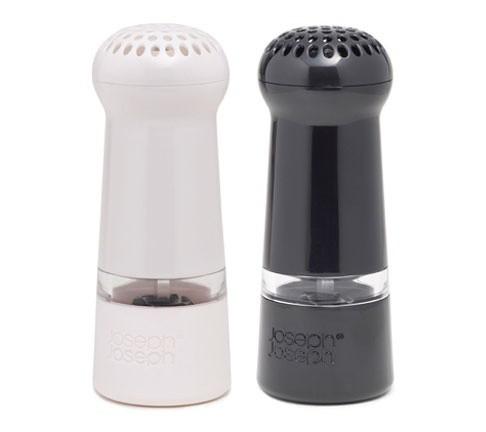 Мельнички для соли и перца Milly™, в наборе черные/белые