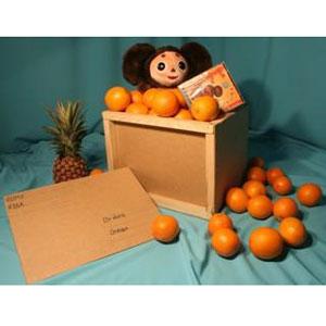 Корзина с фруктами «Посылка из детства»