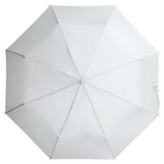 Белый складной зонт Unit Basic