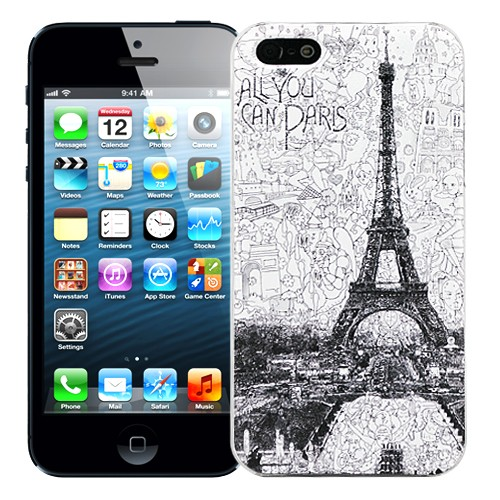 Чехол для iPhone 5/5S All you can Paris