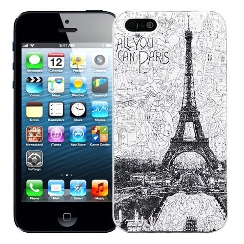 Чехол для iPhone 5/5S All you can Paris