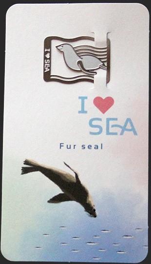 Закладка Морской котик