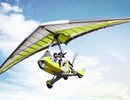 Полет на паралете или дельталете для двоих