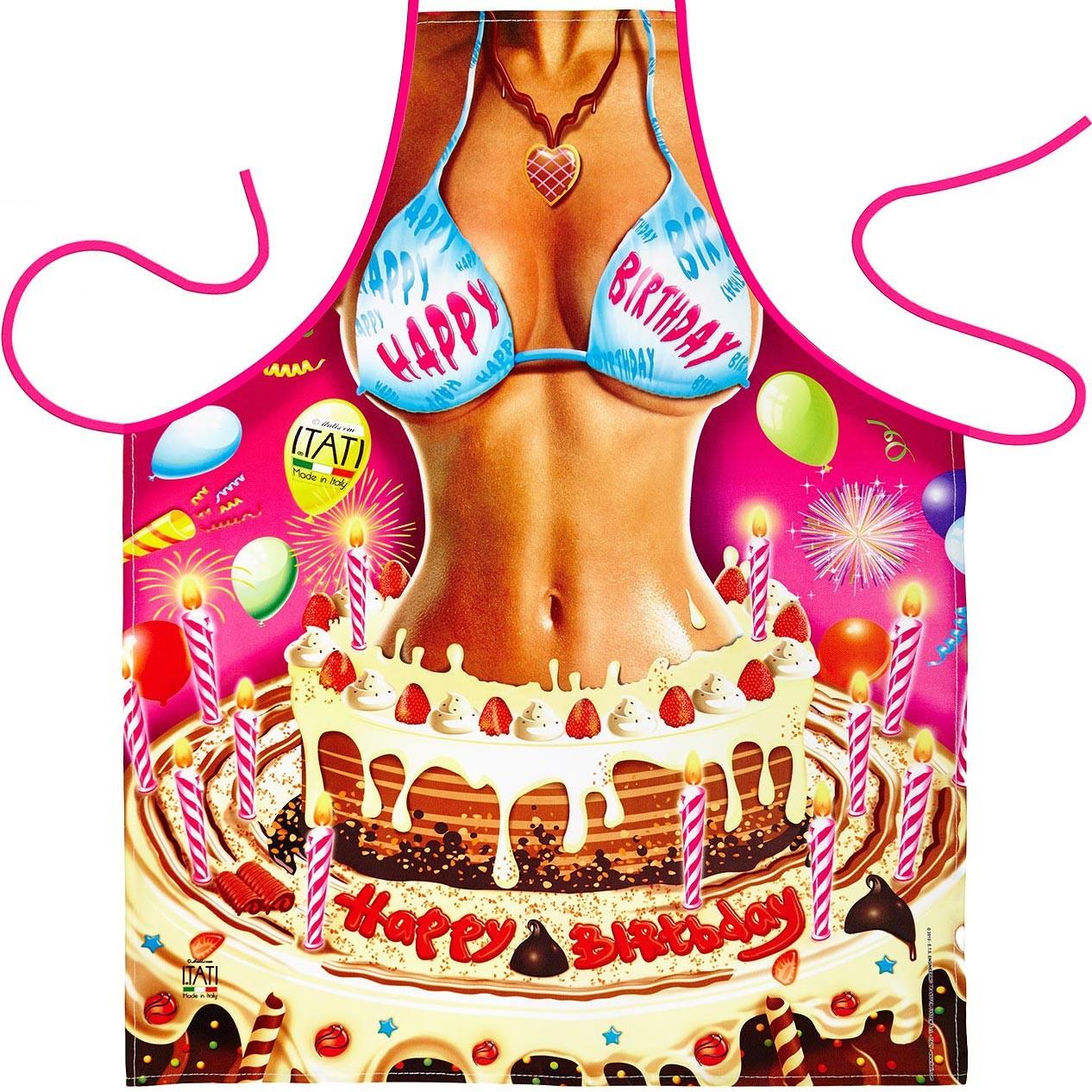 Фартук «С днём рождения, дорогой!»