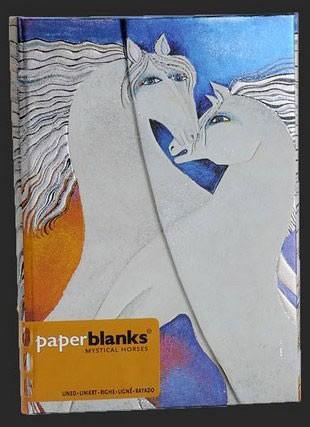 Блокнот от Paperblanks Кони цвета слоновой кости