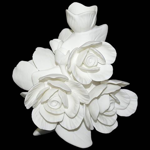 Ваза-подсвечник Королевские чудо-розы