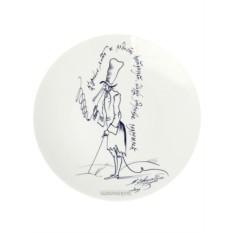 Декоративная тарелка Курильщику