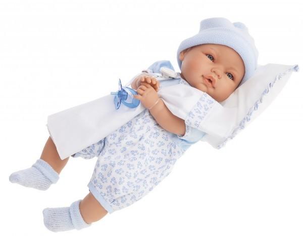 Плачущая кукла-малыш Габи в голубом