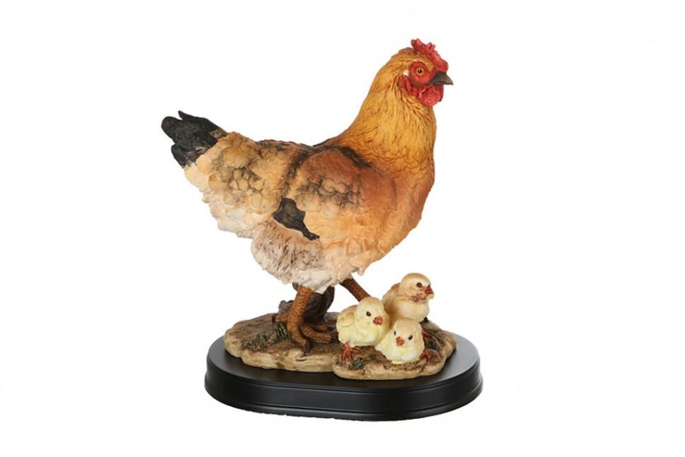 Фигурка Курица с цыплятами